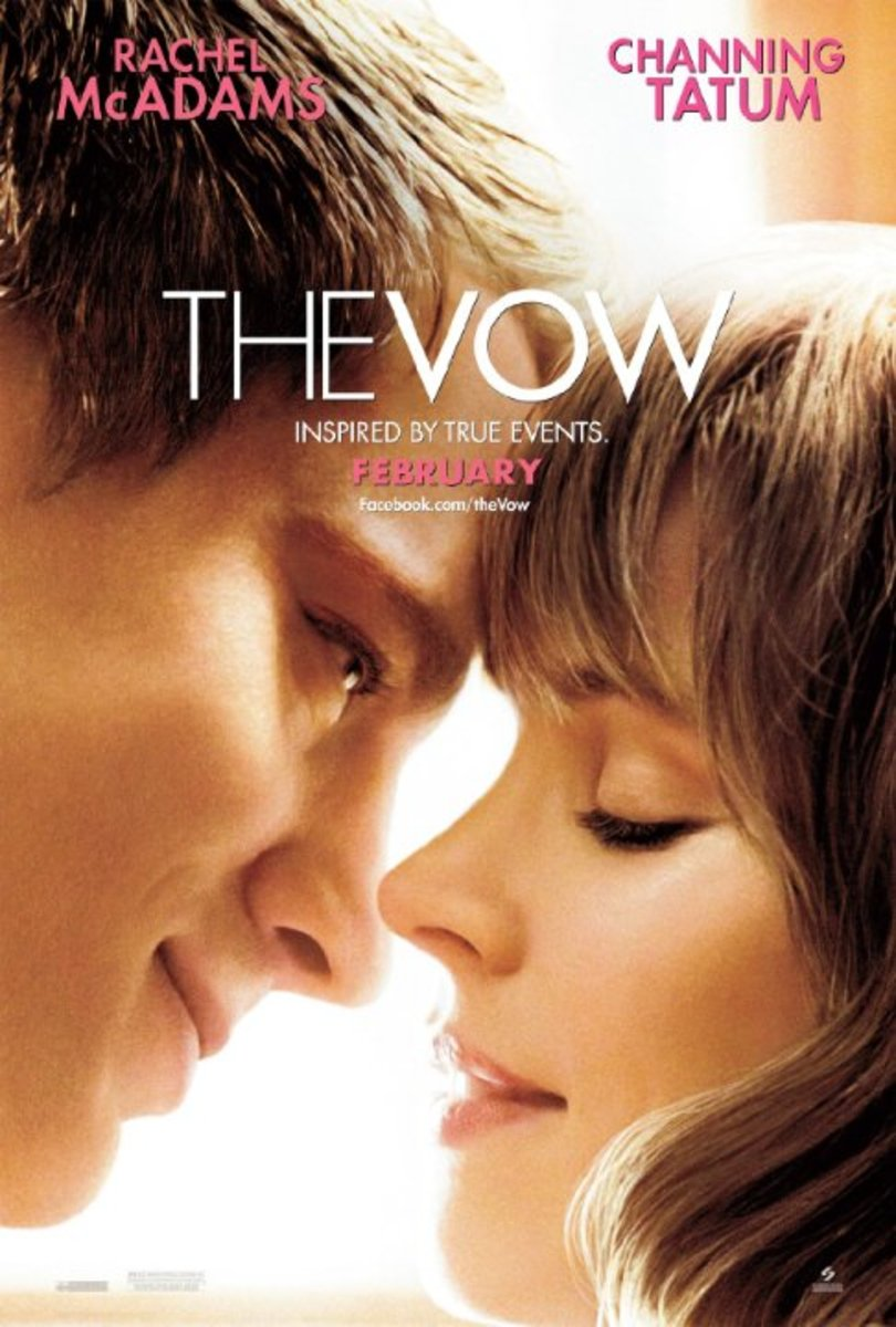 The Vow is a romantic movie about overcoming the odds to hold onto true love.