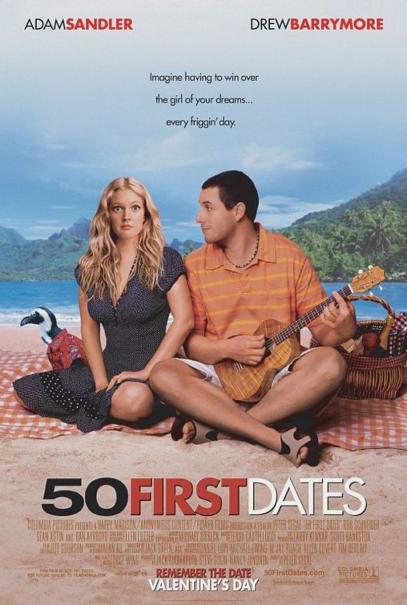 50 First dates is a romantic comedy about discovering one another again... and again... and again.