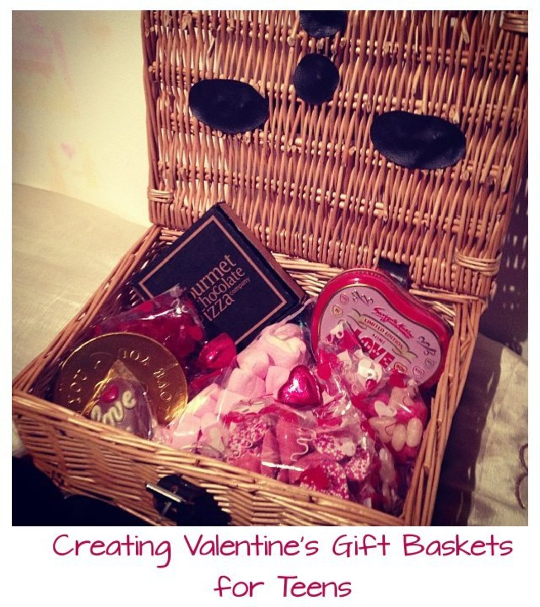 Gift baskets are fun to put together and make a great project for loved ones on your gift list for any holiday season. This guide will help you put together a gift basket for teens for Valentine's Day.
