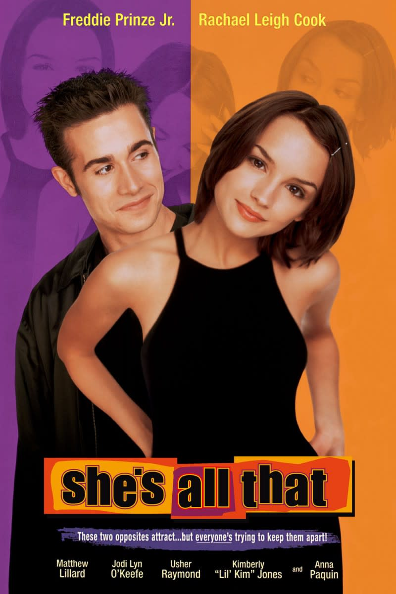 She's All That is a romantic movie about how even the underdog can find love.