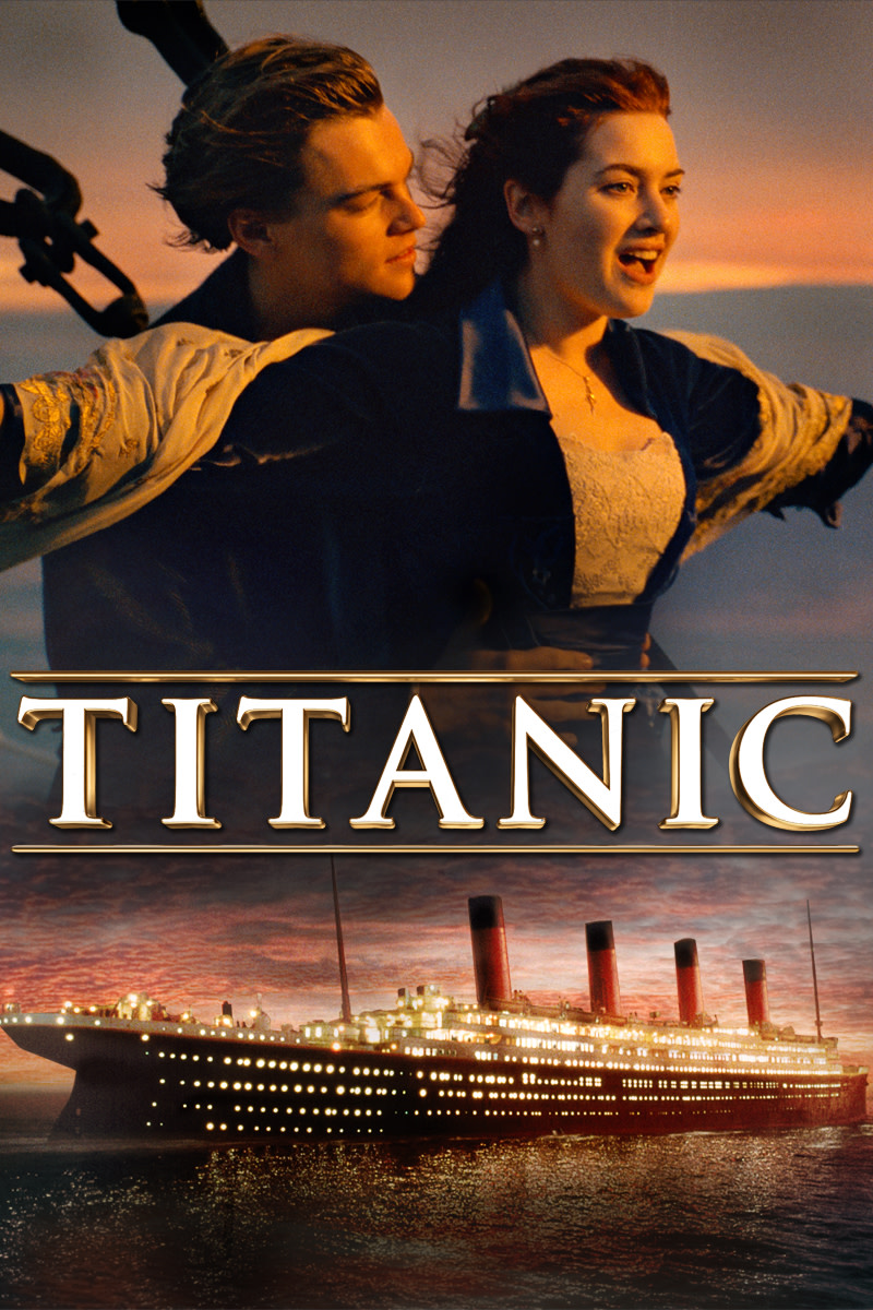 Titanic is a romantic movie about facing the odds for love.