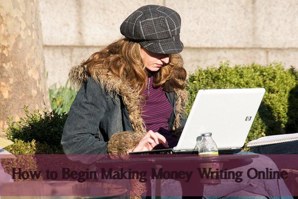 How to Start Making Money Writing Online