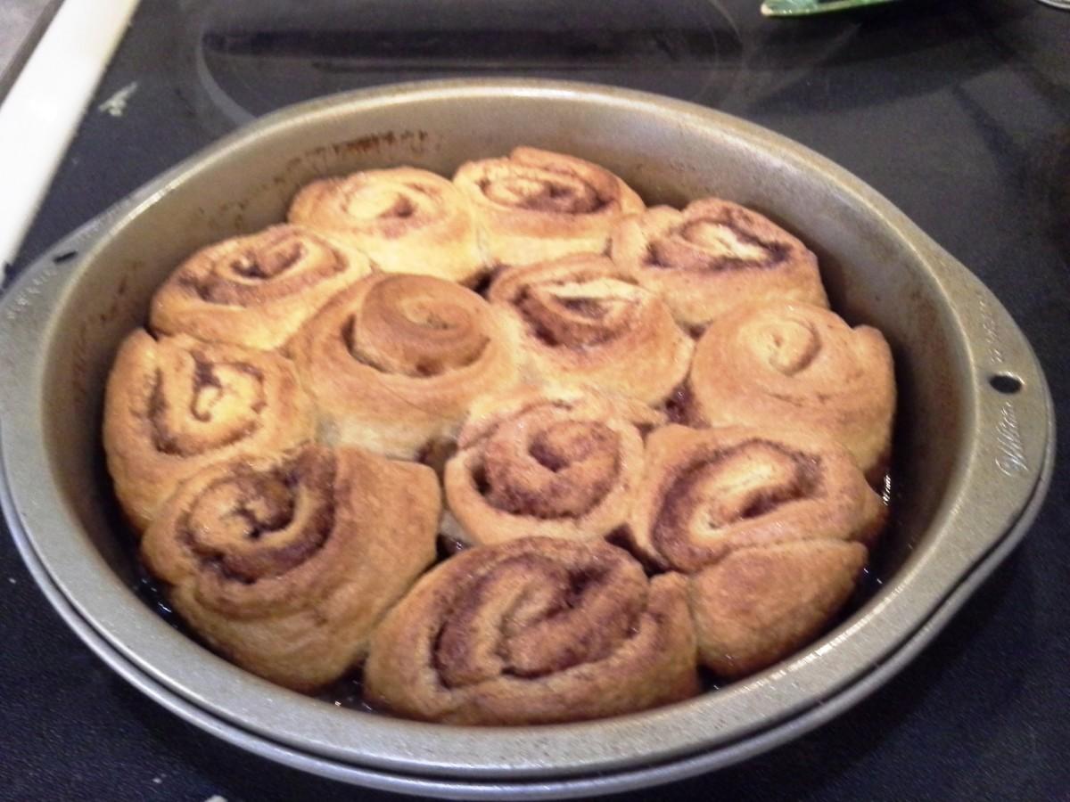 Easy Peasy Croissant Cinnamon Rolls