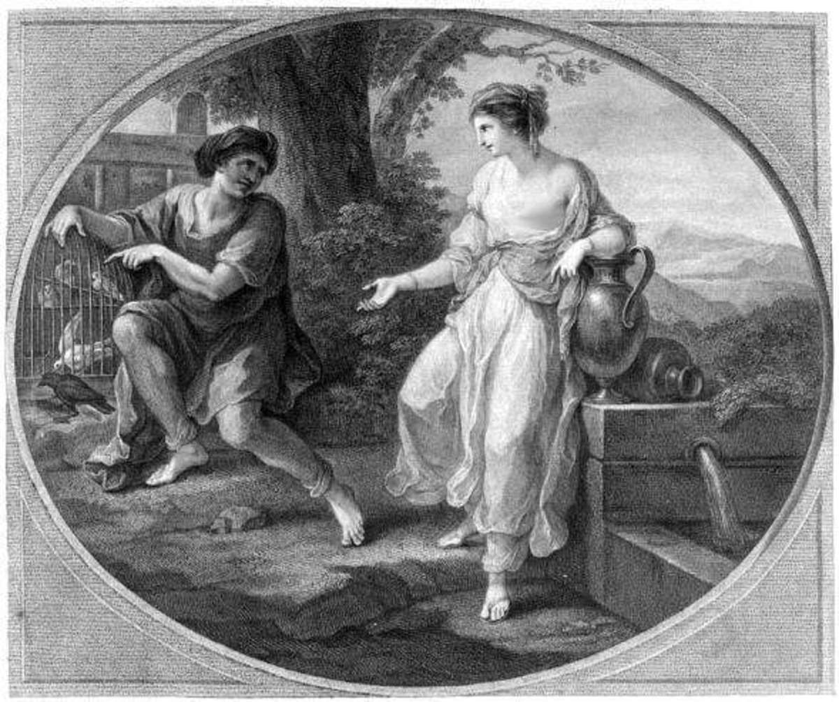 Rhodope (role model for Cinderella) was possibly Aesop's mistress.