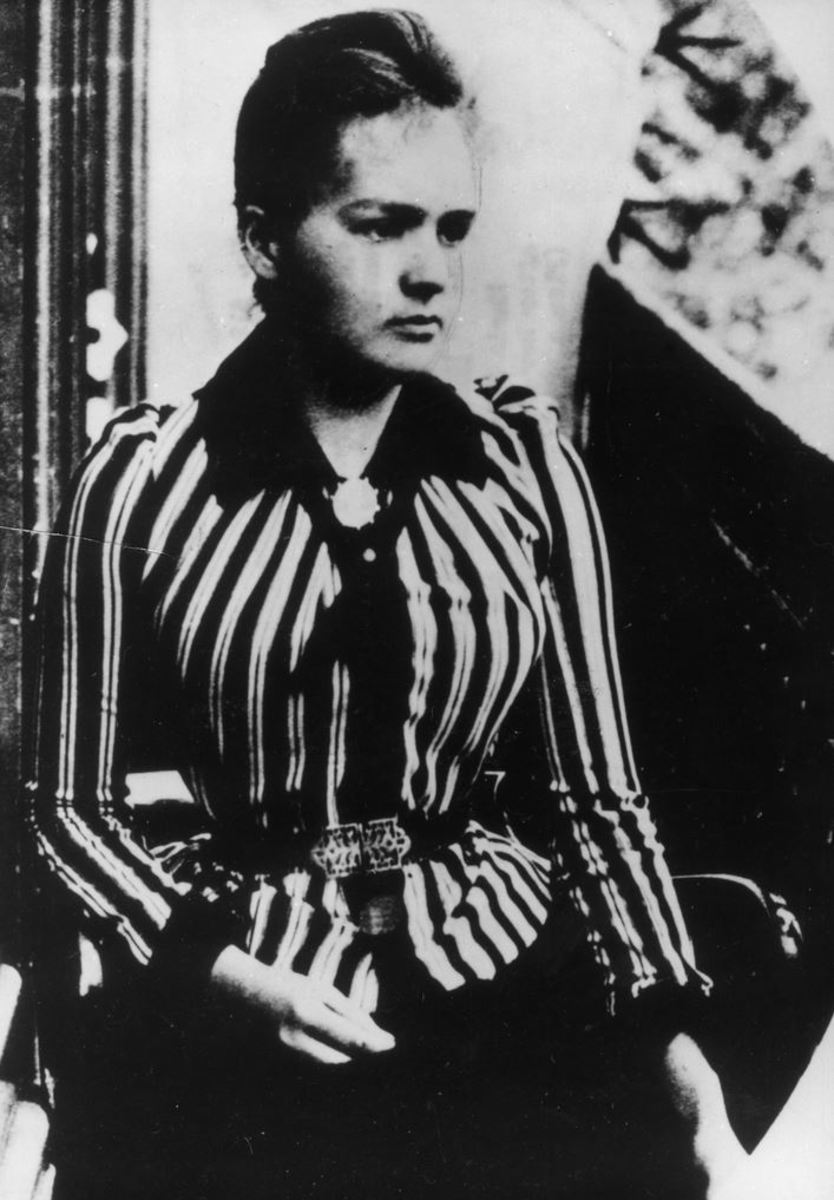 Marie Sklodowska Curie was never a prisoner, certainly no prisoner of fashion.