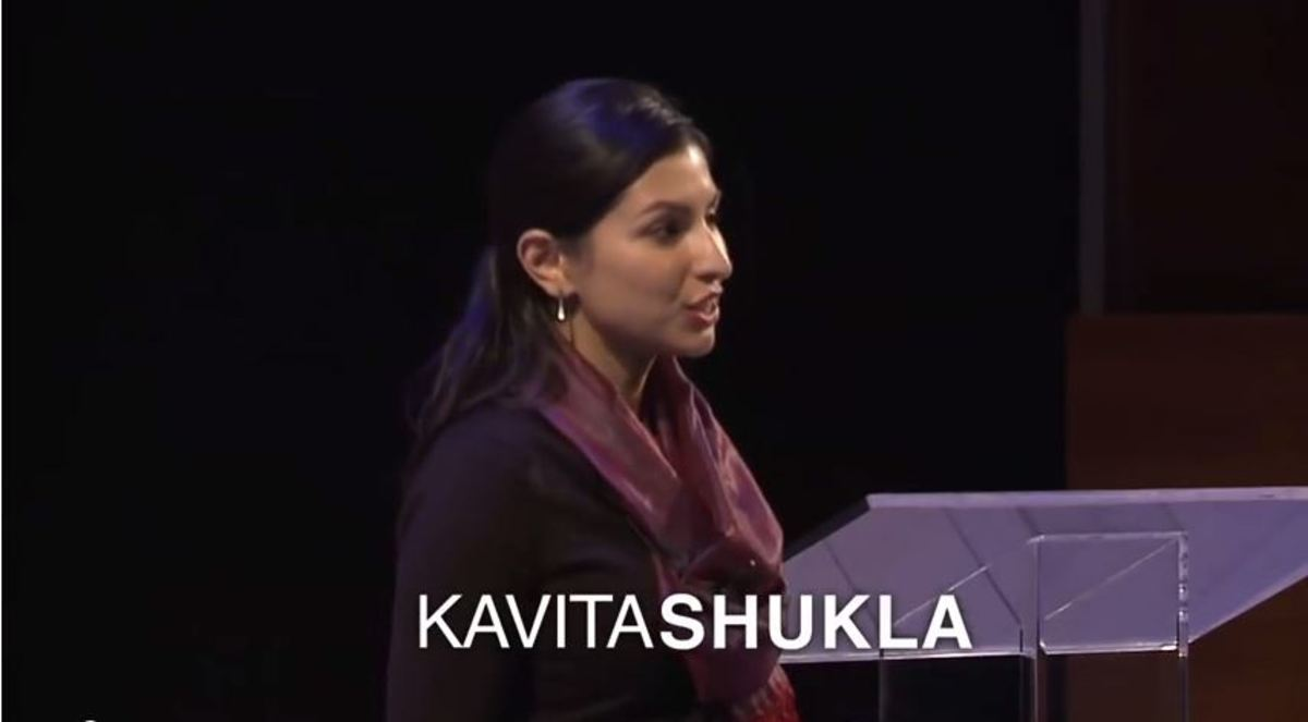 "A practical Genius, Kavita Shulka has the curiosity that is a hallmark of genius.  From an ""old wives home recipe"" she extrapolated discoveries to really help solve world hunger. So what did you do in high school?"