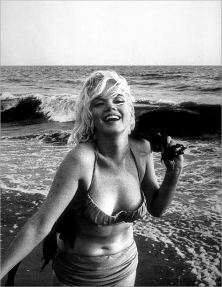 Marilyn Monroe (public domain)