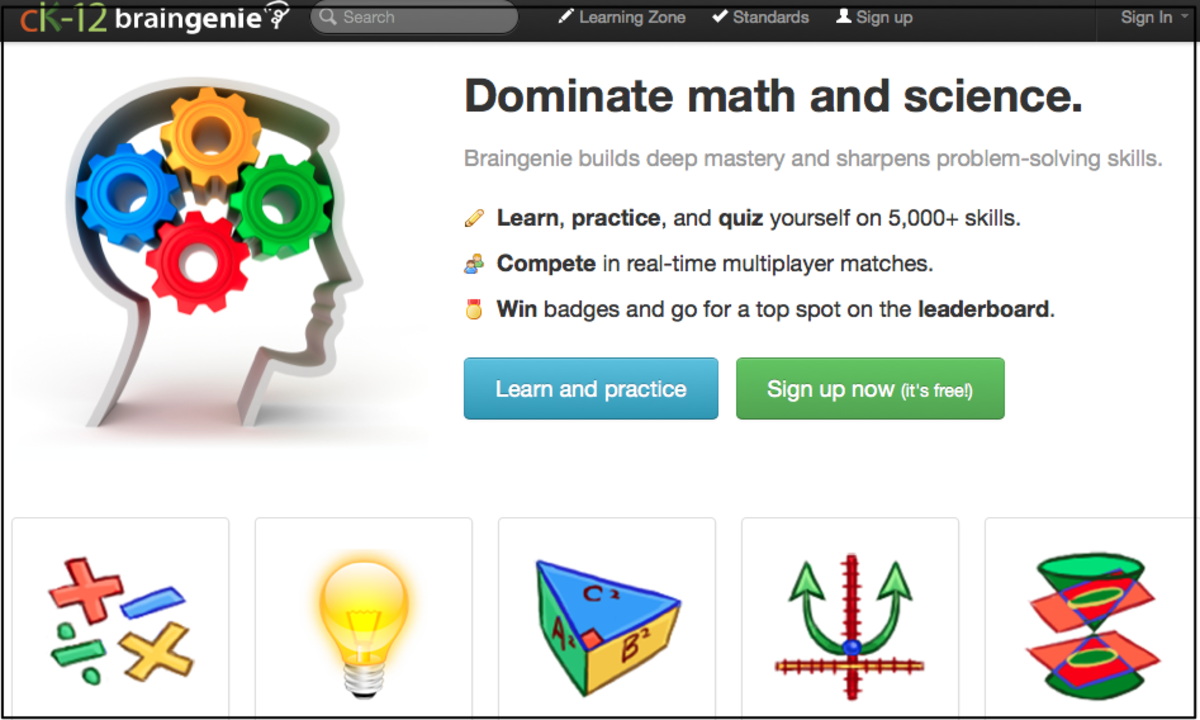 cK-12 Math and Science Resources
