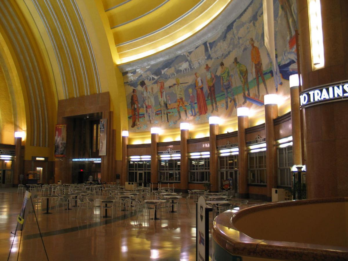 Cincinnati Union Station Terminal.