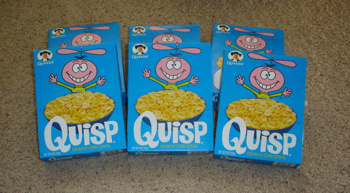 Jay Ward Productions produced commercials  for Quisp Cereal