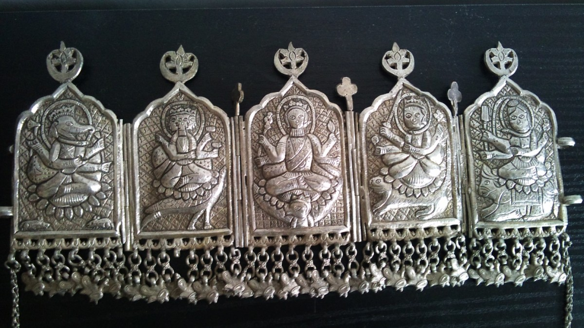 Traditional Jewelries of Lahaul & Spiti Women