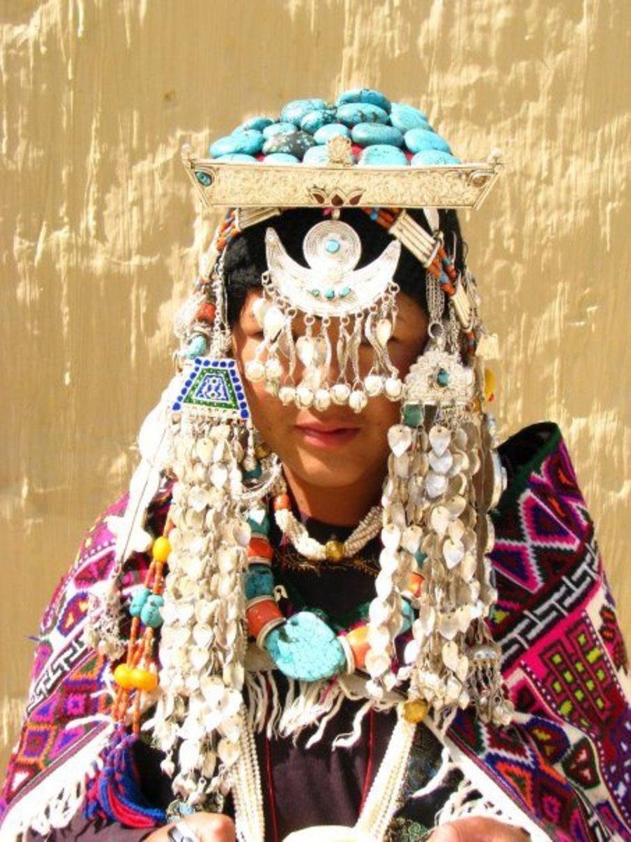 Traditional Jewelleries of Lahaul & Spiti Women