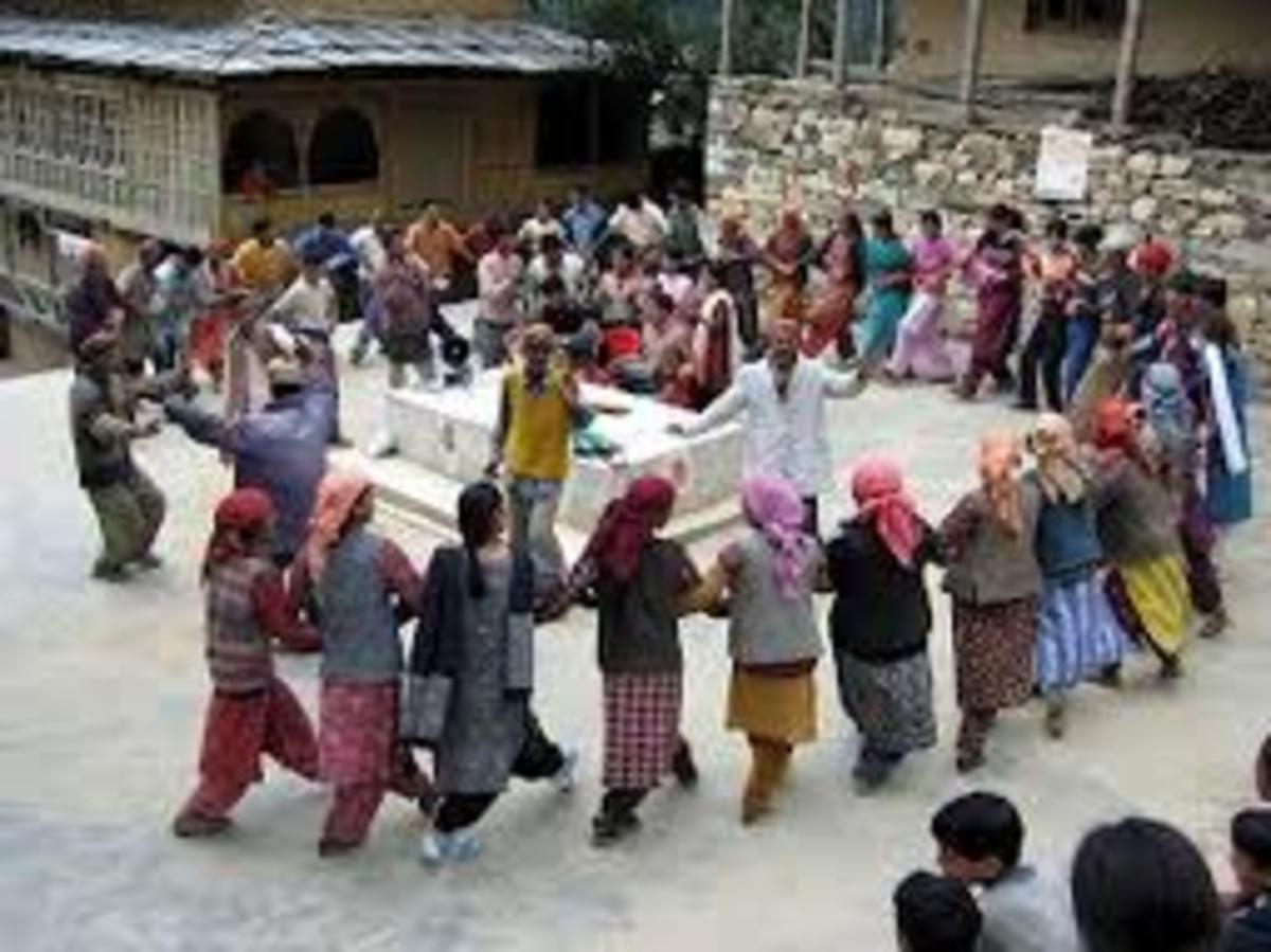 Community Dance in a Festival