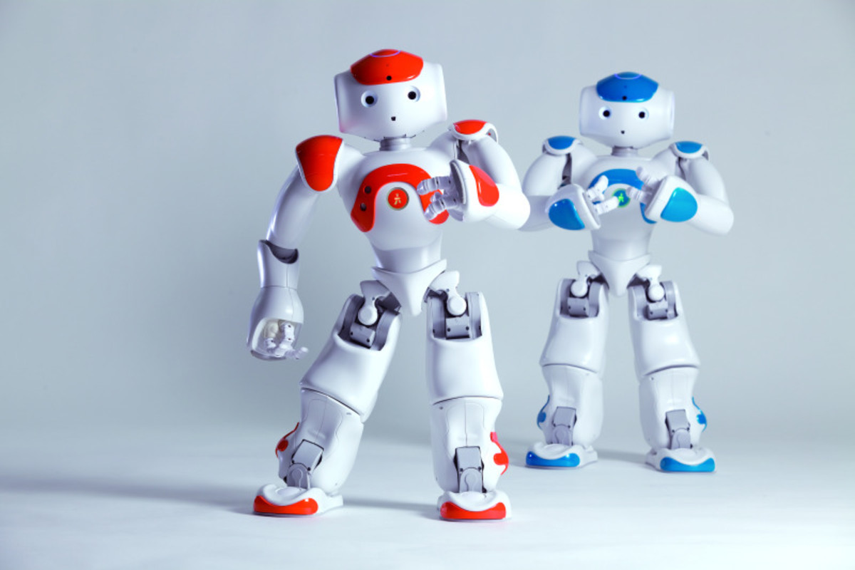 Nao -  a humanoid robot which shows the progress shown by enginering
