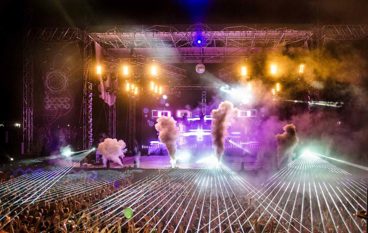 Crowd at David Guetta, Dance Arena, Exit 2013.