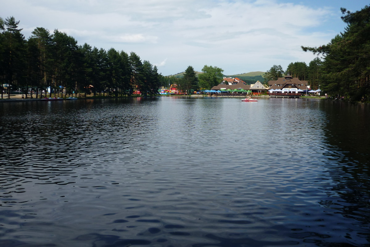 Lake in the centre of Zlatibor