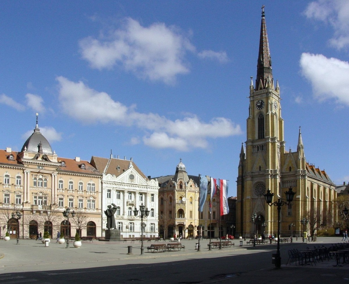 Novi sad - Freedom Square