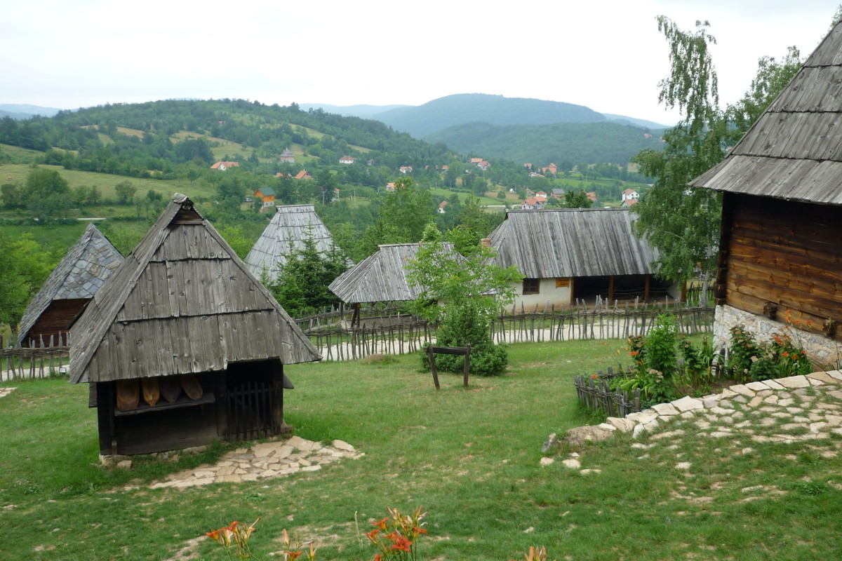 Old village in Sirogojno