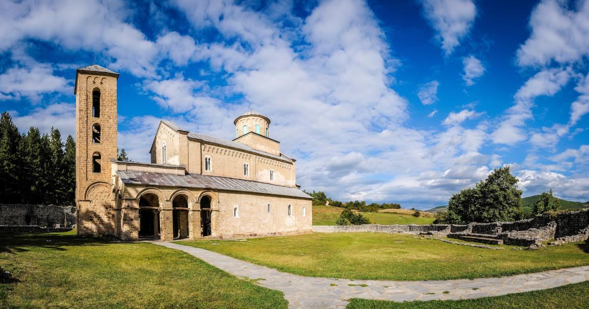 Sopocani Monastery 14th centery