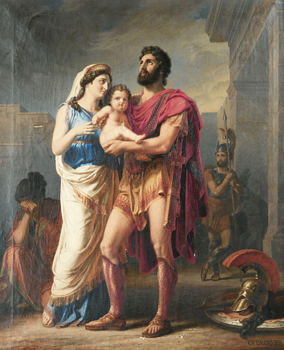 The Farewell of Hector to Andromaque and Astyanax