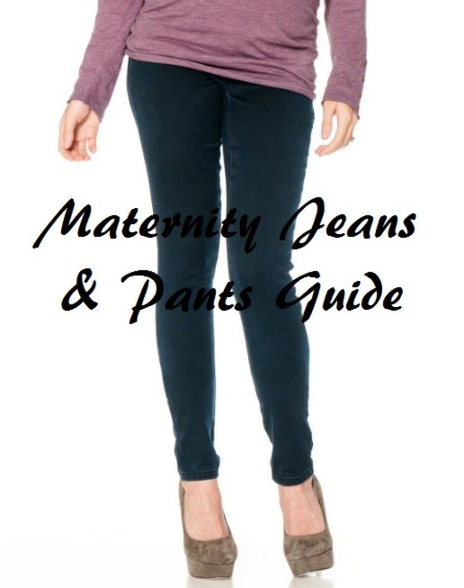 Maternity Clothes Guide - How To Buy Jeans or Pants For Your Pregnancy