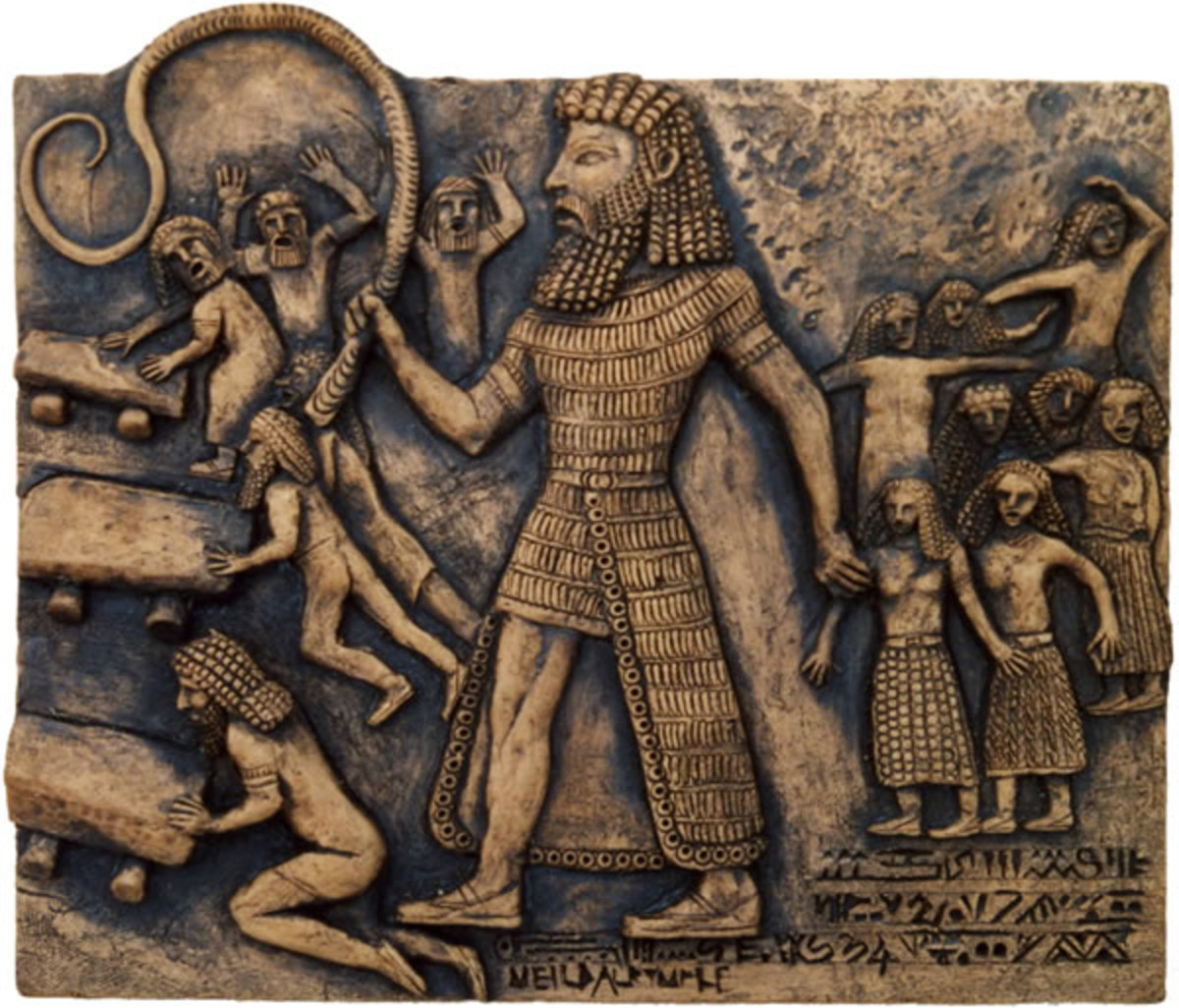 Gilgamesh Working the Men while Taking the Women