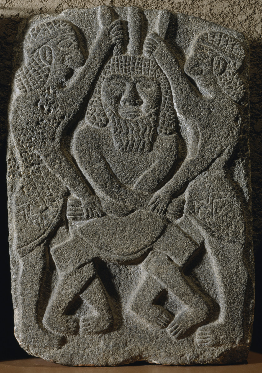 Gilgamesh and Enkidu Kill Humbaba