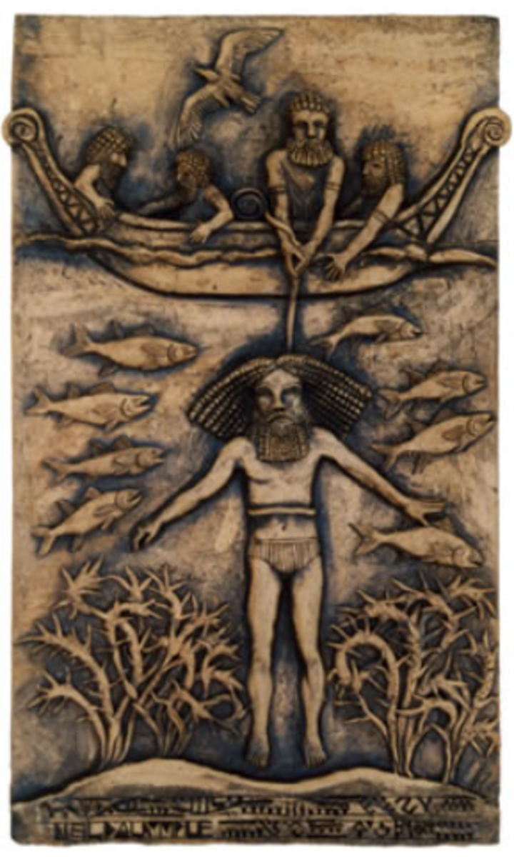 Gilgamesh Obtains the Plant of Life