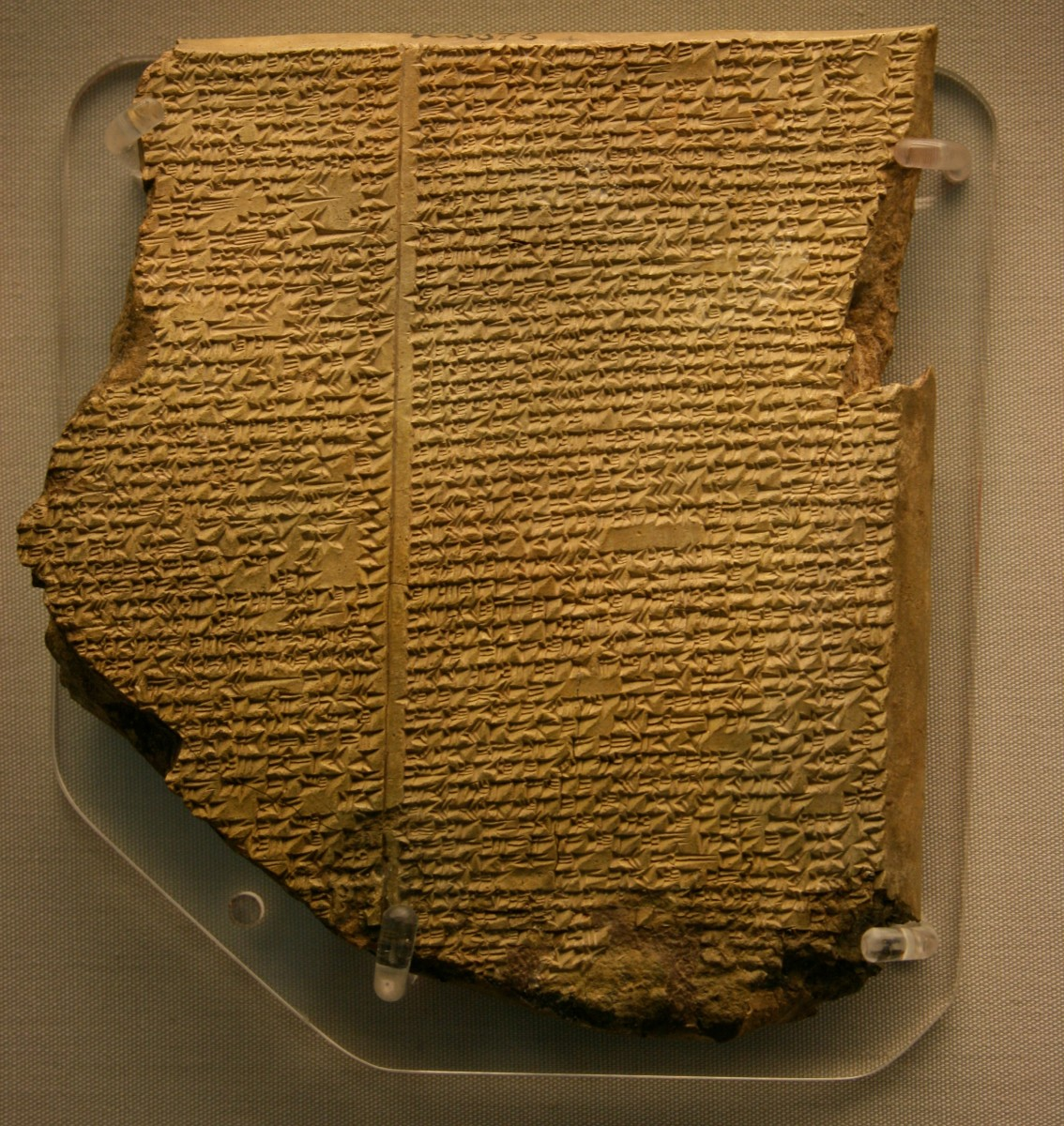 Flood Tablet from the Epic of Gilgamesh
