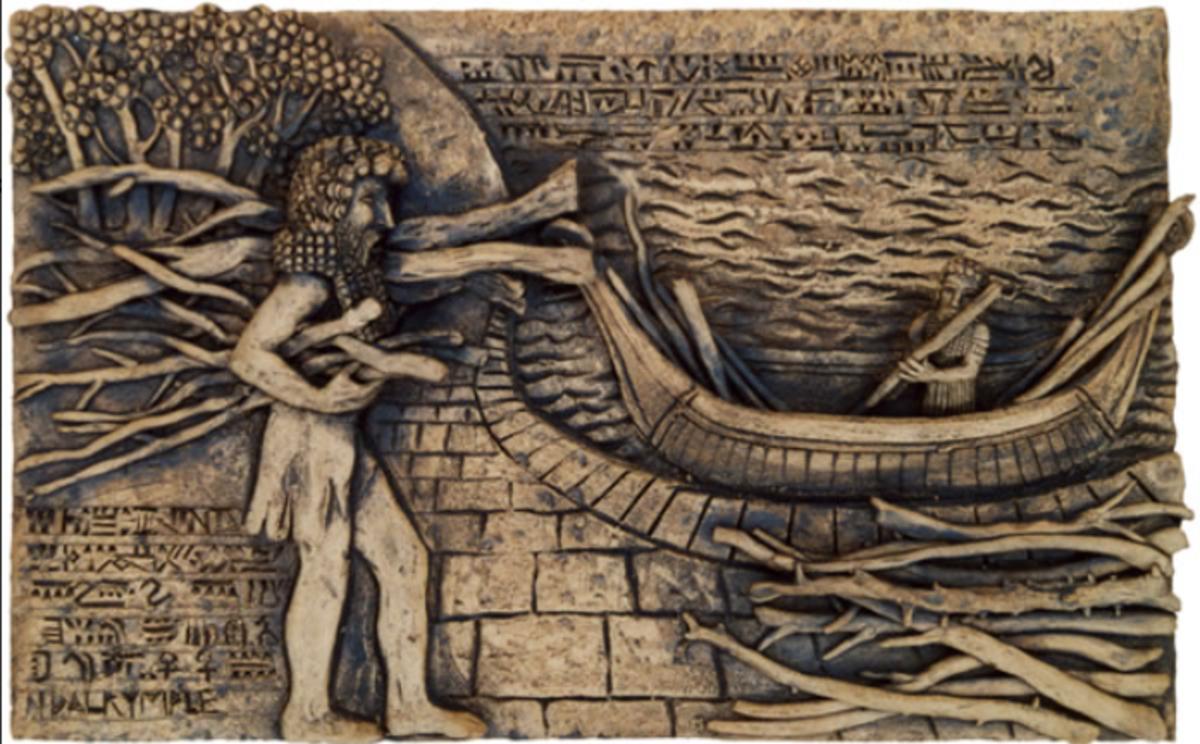 Gilgamesh Cuts 300 Trees