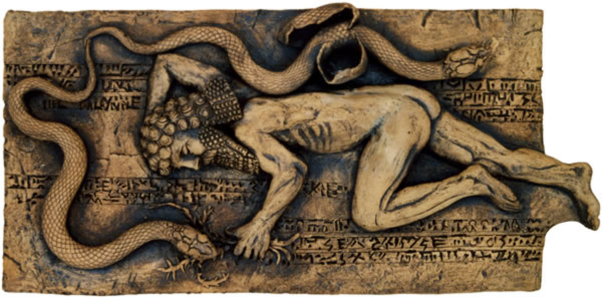 Gilgamesh Loses Plant to the Snake