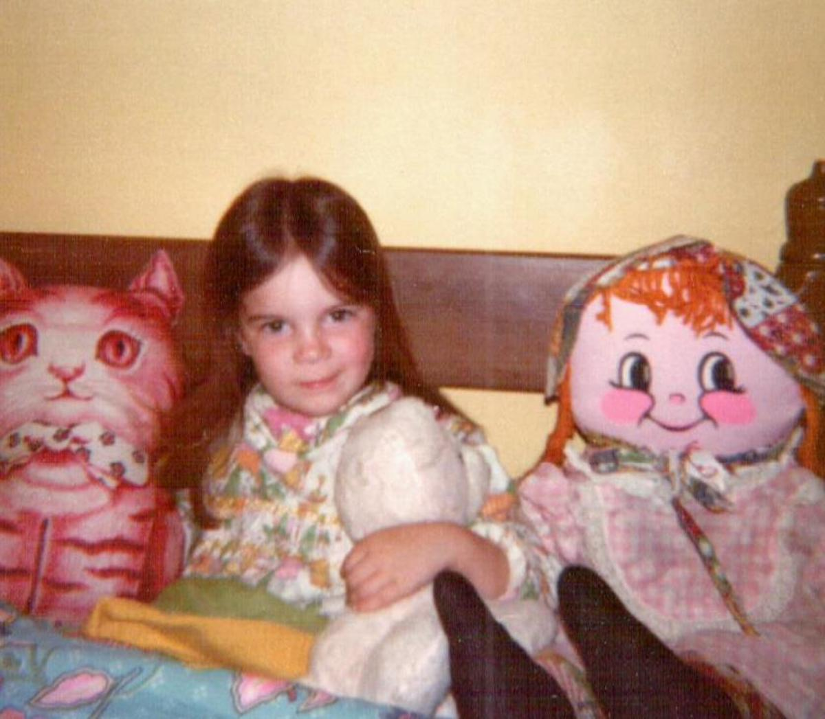 My daughter at age five.