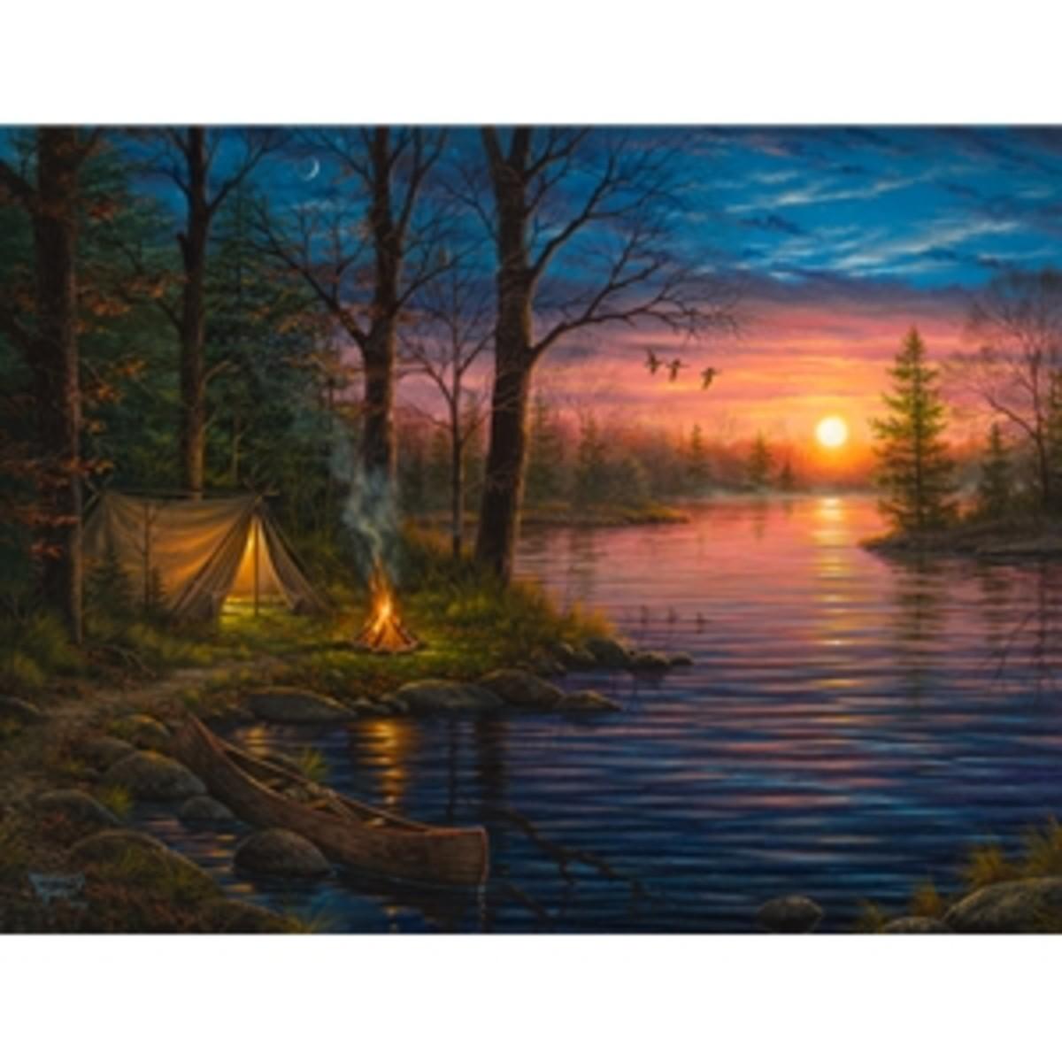 Abraham Hunter's Brilliant use of Light