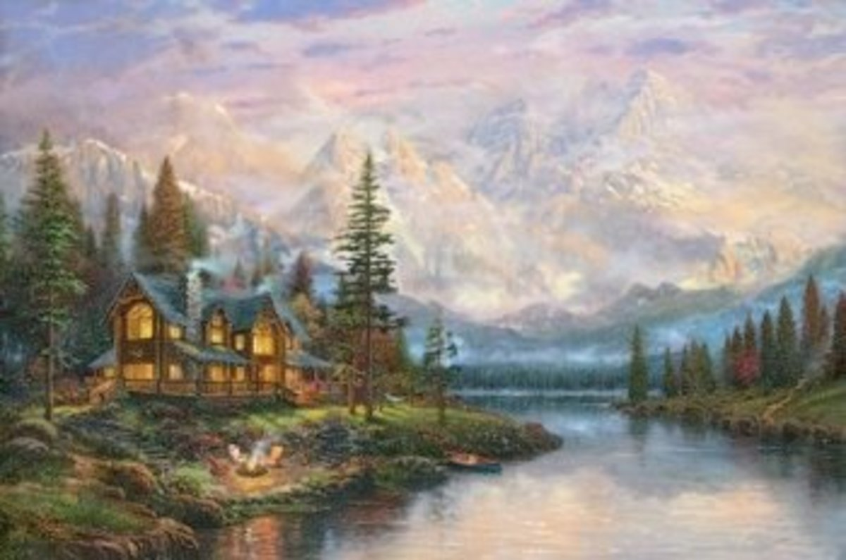 Painters of Light; Thomas Kinkade and the Next Generation of Artists.