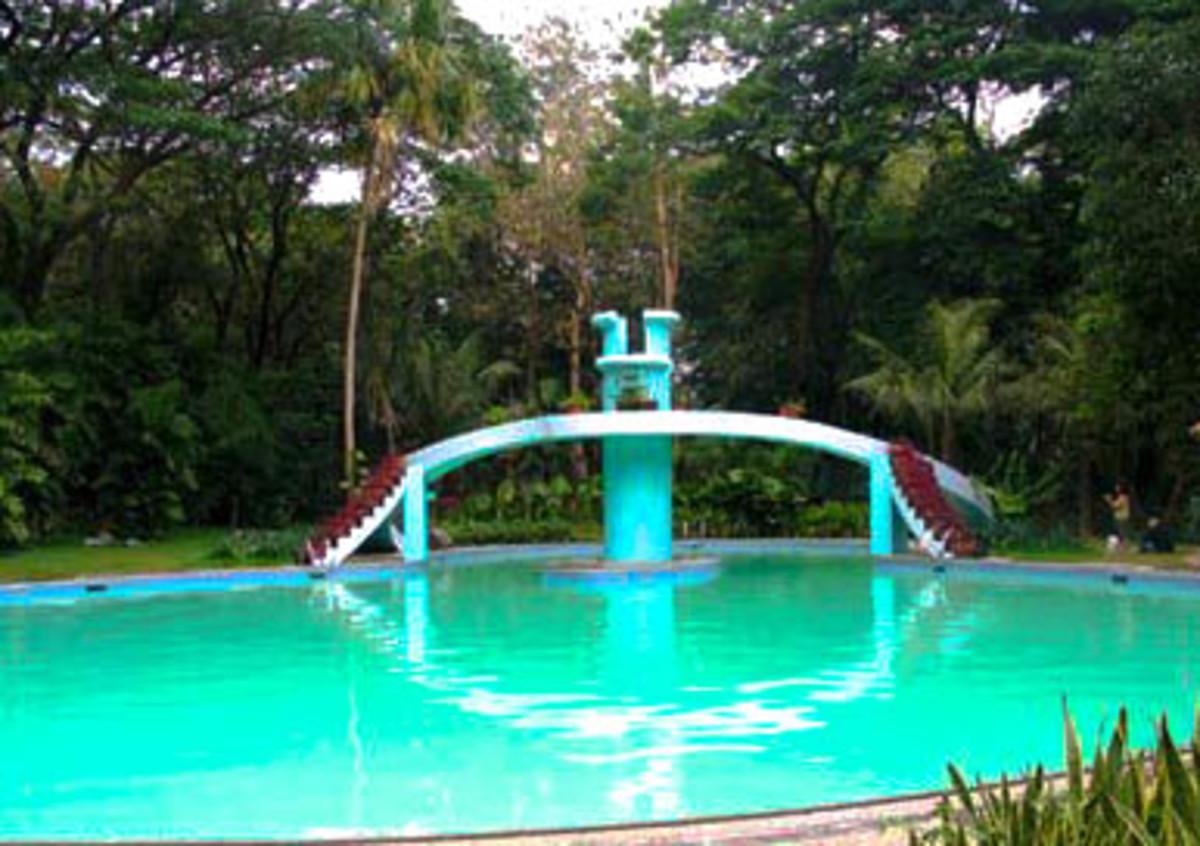 The swimming pool of La Mesa Eco Park