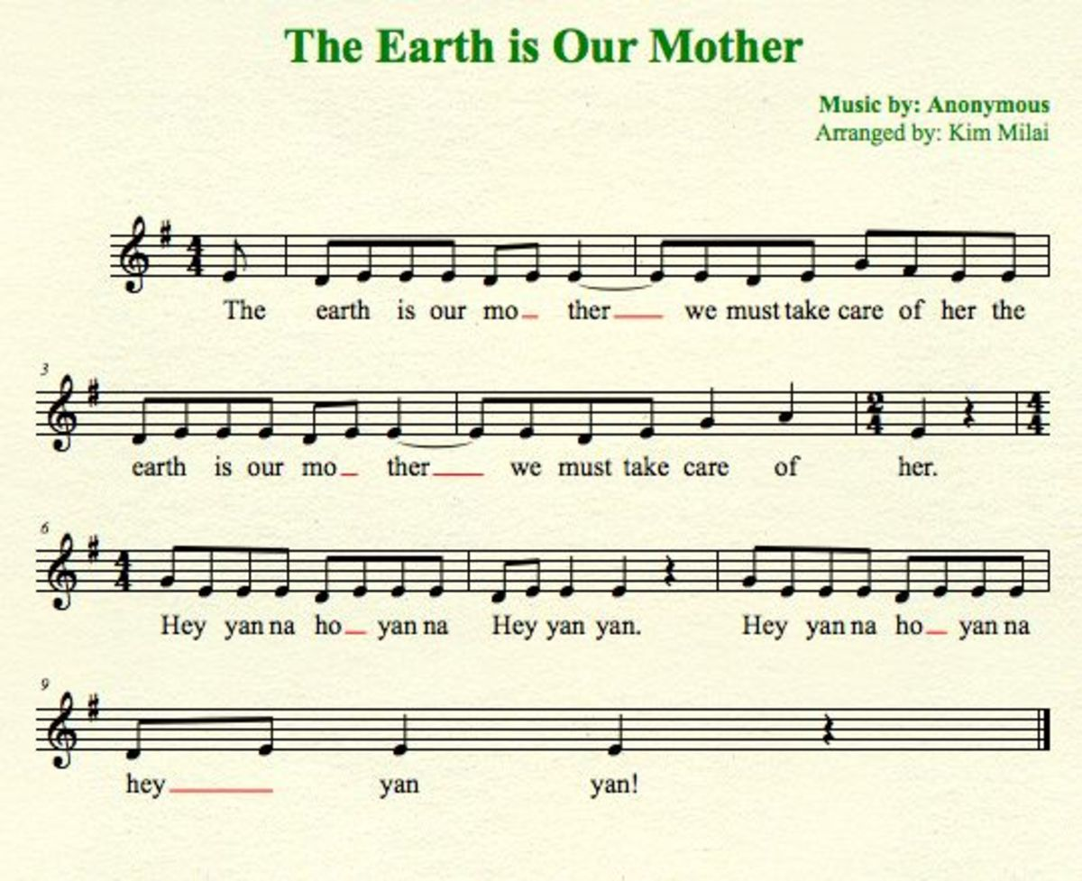 A Great Song for  Your Earth Day Circle Chant