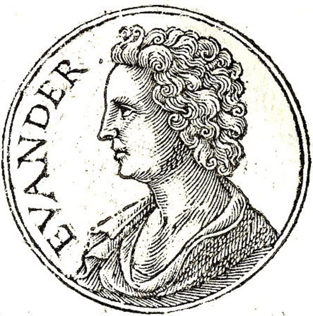 Evander Son of Hermes