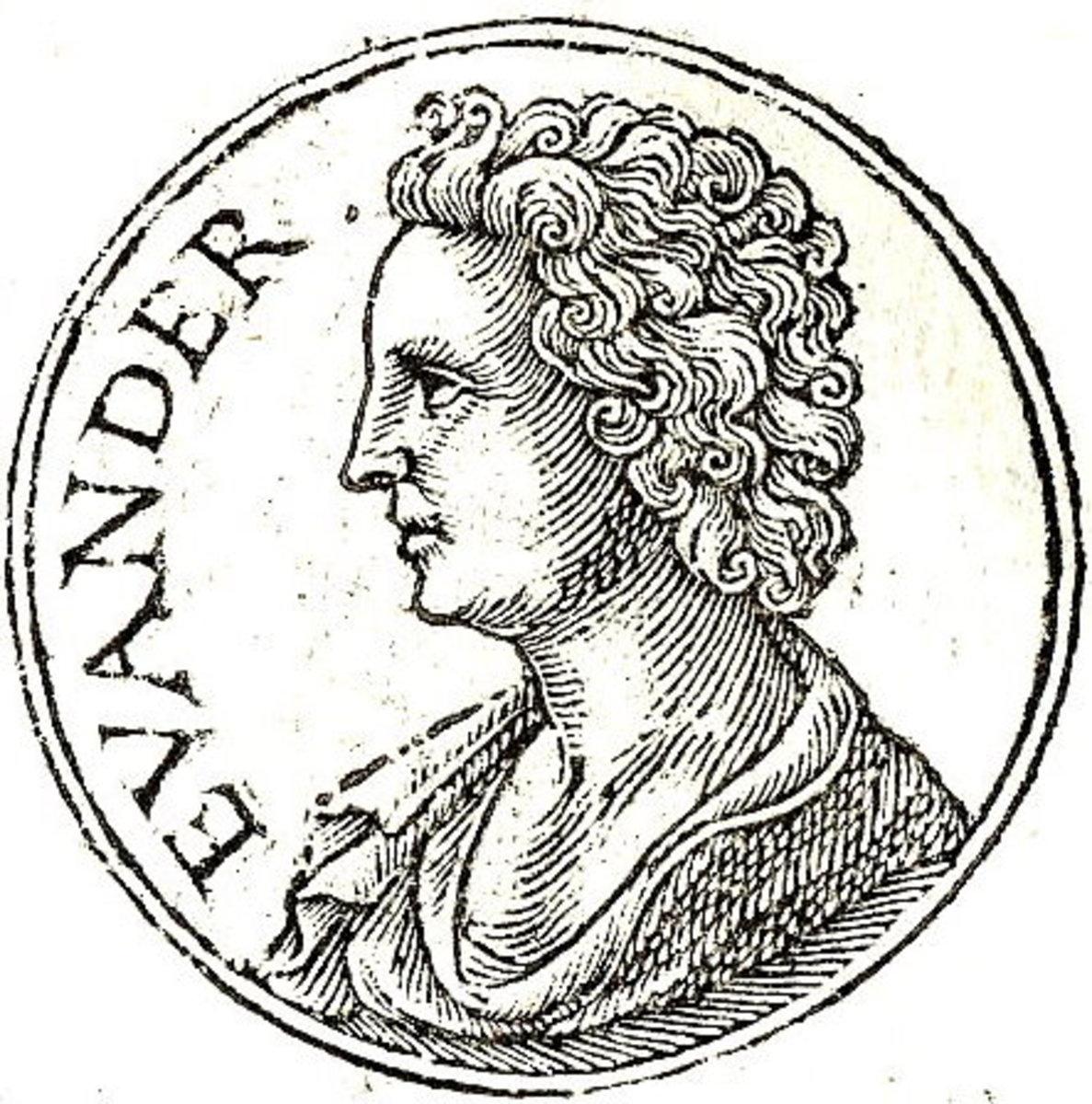 Evander Son of Hermes