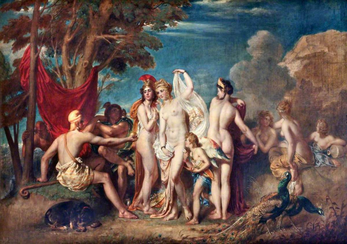 Hermes at the Judgment of Paris