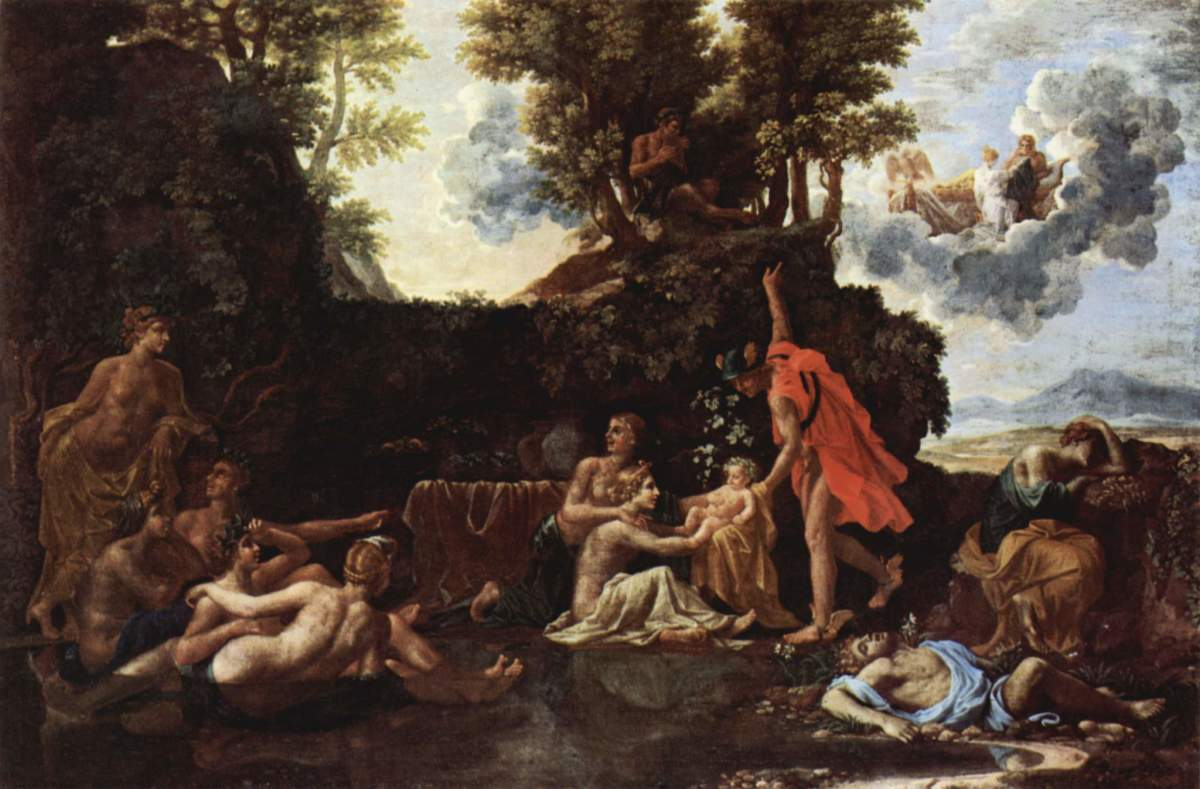 Hermes Delivers Dionysus to Ino