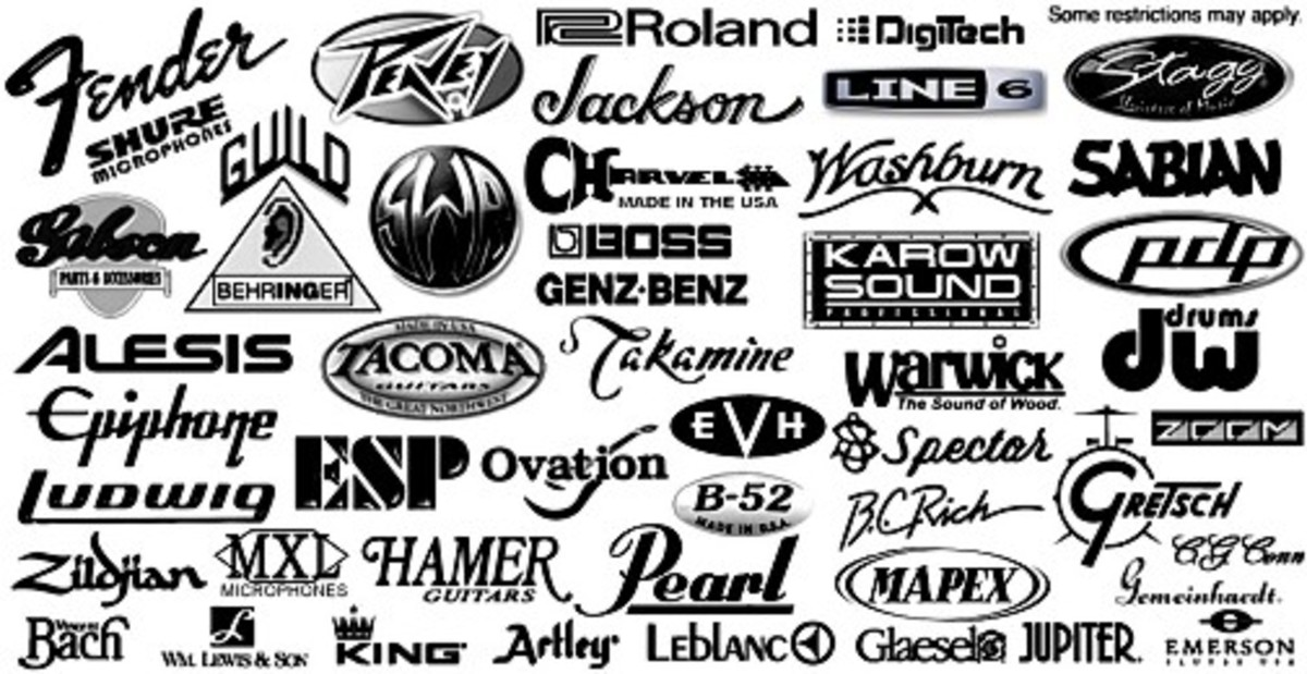 A world of Guitar Brands!