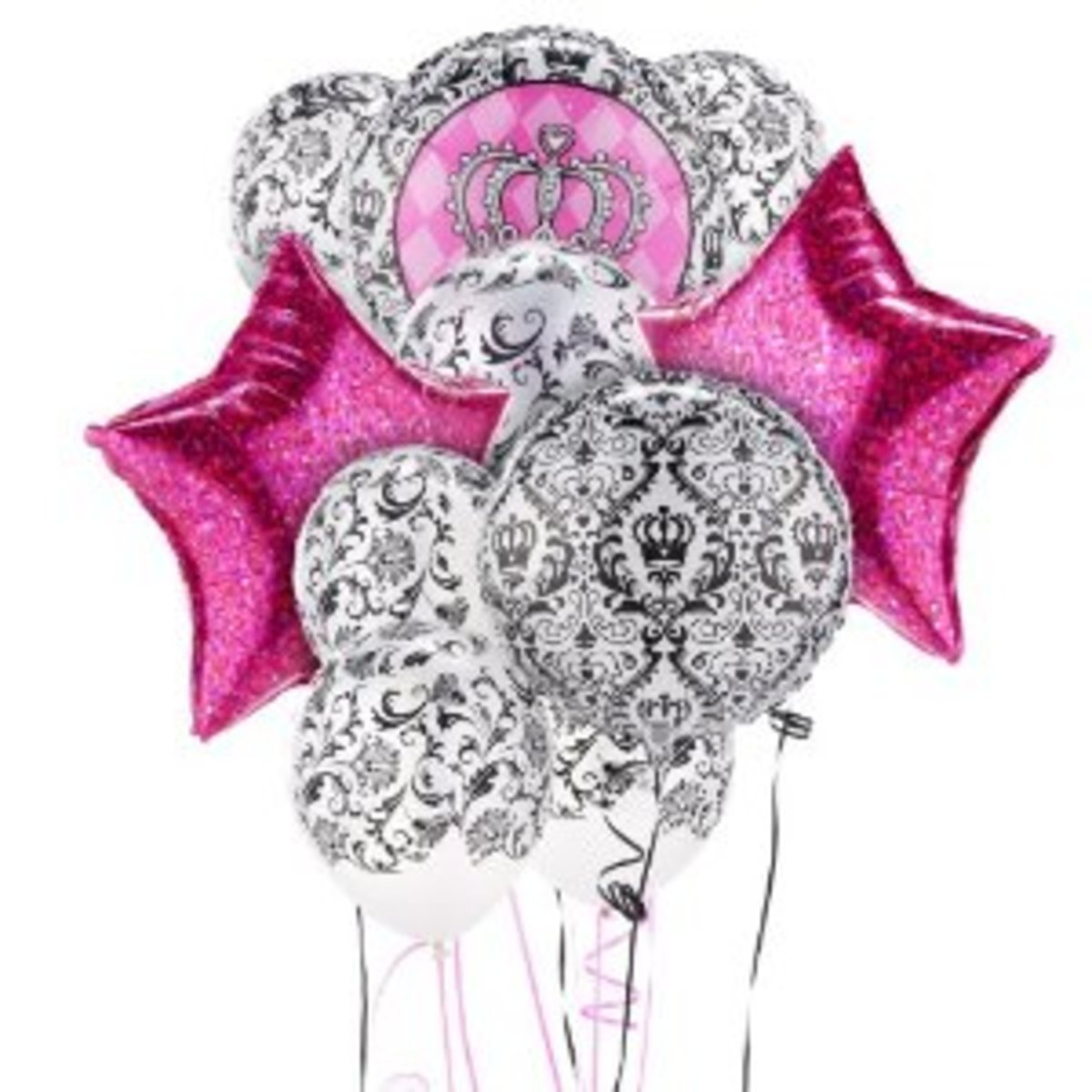 damask balloon set perfect for Royals decorations