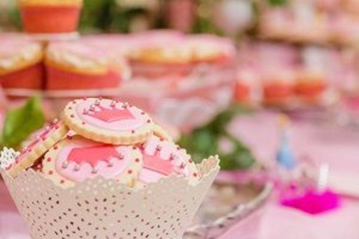 Pink Crown cookies
