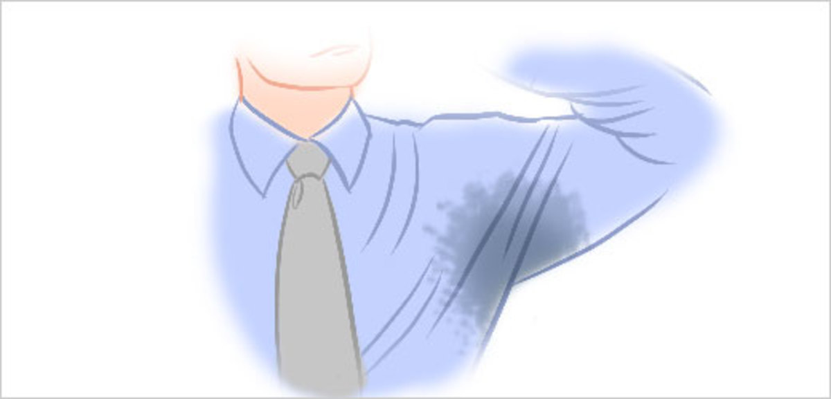 Managing Sweat Stains