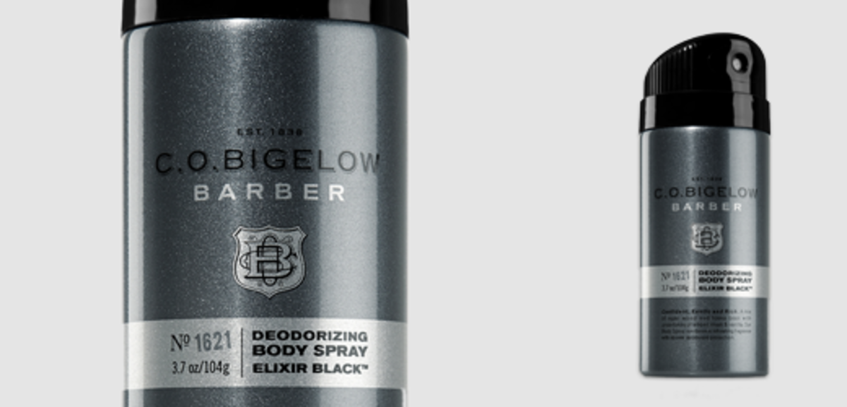 C.O. Bigelow Elixir Black Deodorant Spray