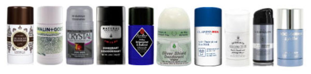 Top 10 Deodorants for Men