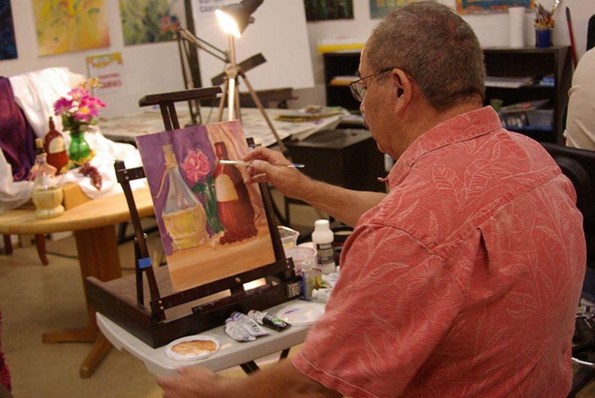 Rudy Murrietta painting.