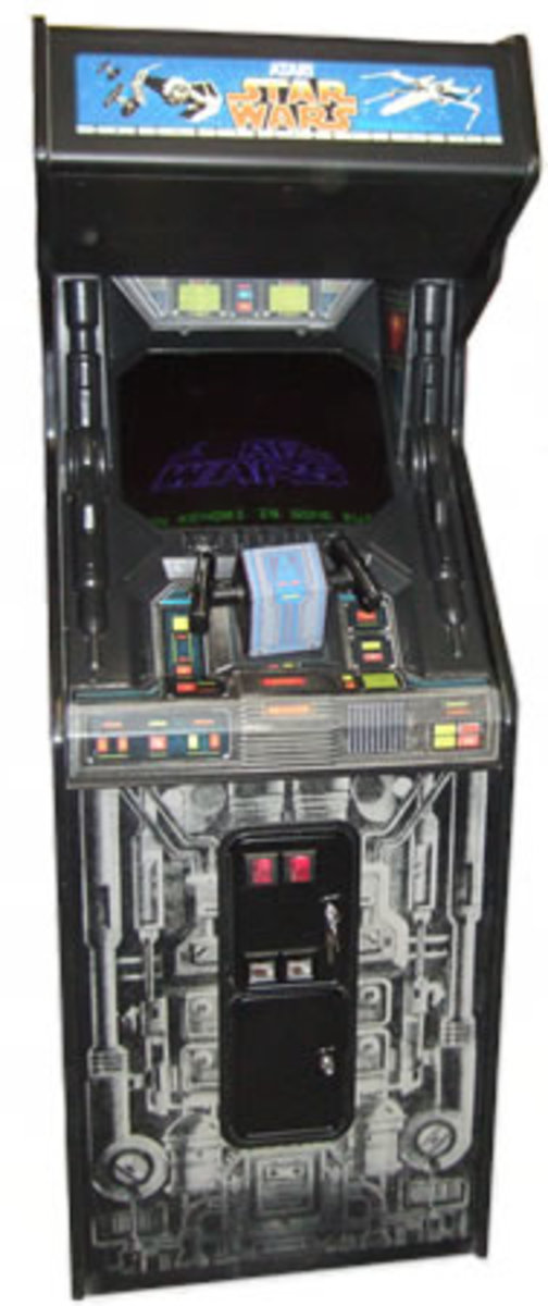 Star Wars Arcade Upright Cabinet