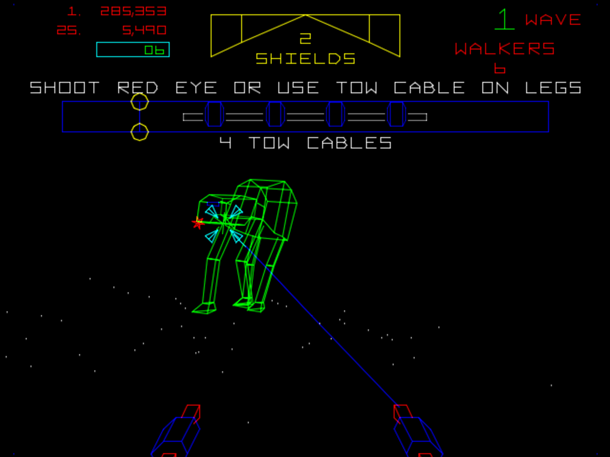 The Empire Strikes Back Arcade (1985)