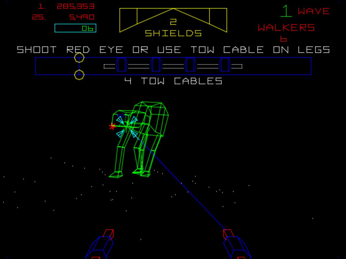 The Empire Strikes Back Arcade (1985)